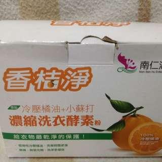 博士多香桔淨冷壓橘油+小蘇打濃縮洗衣酵素粉、博士多、香桔淨、洗衣酵素粉、給衣服最乾淨的保護。