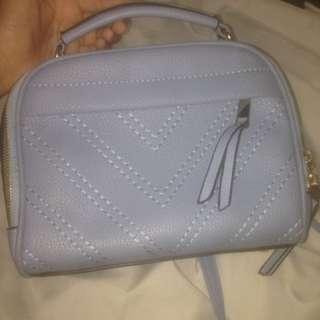 Sling bag baby blue reprice