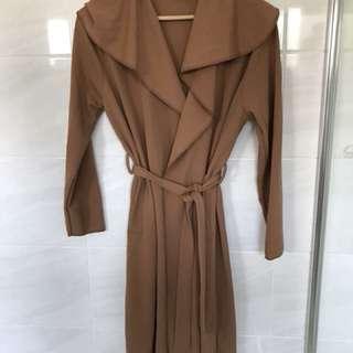 Boohoo Brown Jacket/Coat