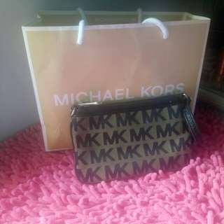 Authentic MK pouch