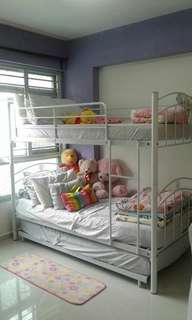 Bed frame only (double deck)