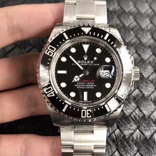 玩表吧 見面交收 Rolex 勞力士 sea-dweller 126600 43mm 單紅 AR出品
