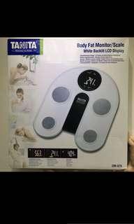 TANITA電子體重脂肪磅(UM-076)-全新