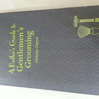 A Butler's Guide to Gentlemen's Grooming    HardbackEnglish  By (author)Nicholas Clayton