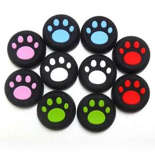 Game Controller Paw Print Thumbstick Cover