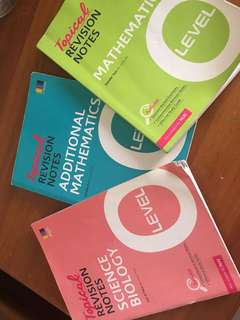 Olevels revision booklets