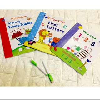 WRITE AND ERASE KIDS ACTIVITY TAKE ALL with Pen