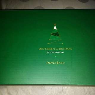 Innisfree Green Christmas DIY String Art Kit