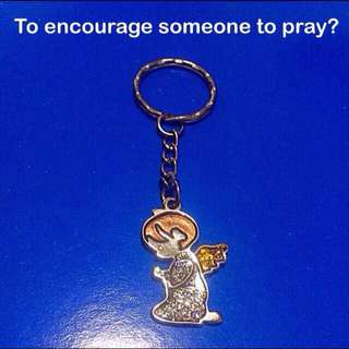 Praying keychain - Encourage someone to pray with this [ gifts presents uncle.anthony uncle anthony uac] FOR MORE PICTURES & DETAILS, GO HERE: 👉 http://carousell.com/p/115293216