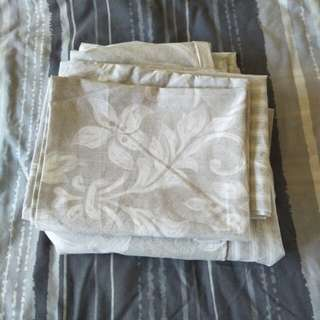 Pillowcases and quilt cover