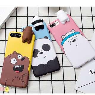 🐻We Bare Bears phone cover!🐻
