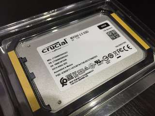 BNIB Crucial MX500 SSD 500GB