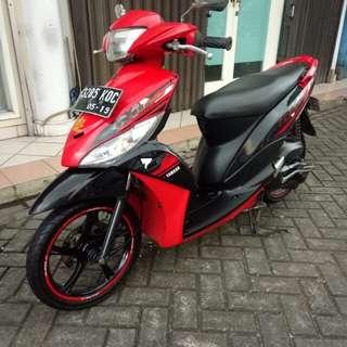 Di Jual Motor Yamaha Mio J 113 Tahun 2014