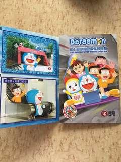 Doraemon 30周年地鐵紀念車票