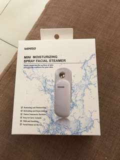 Miniso facial steamer