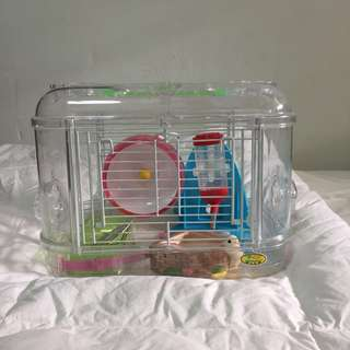 Hamster Cage Small + Accessories