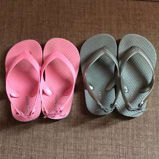 Old navy slippers (take both)
