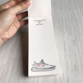 Yeezy boost Adidas notes ORI