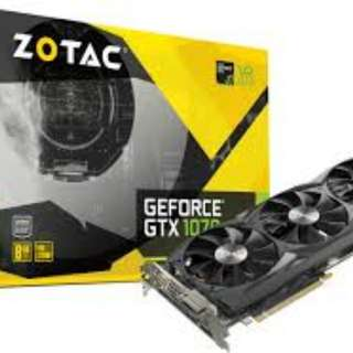 GTX 1070 ZOTAC 8GB
