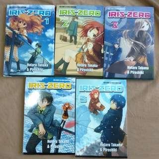 Komik manga iris zero 1-5