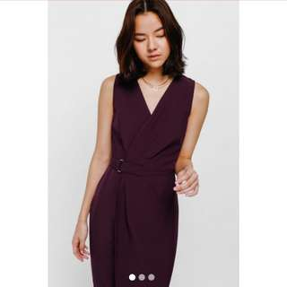 (looking for) Love Bonito Runched Plum dresw