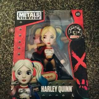 Harley Quinn Metal Die Cast Collectible