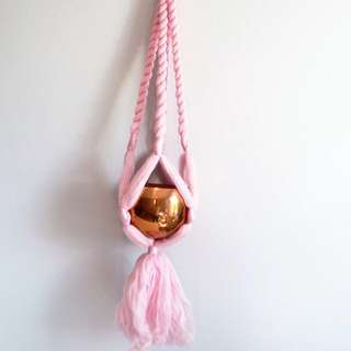 Macrame wall hanging - chunky merino wool