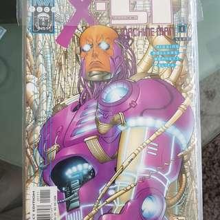Marvels Machine man 1-12
