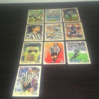 FOOTBALL Vintage Trading Cards - Newcastle United