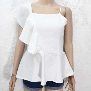 Maja Peplum Top