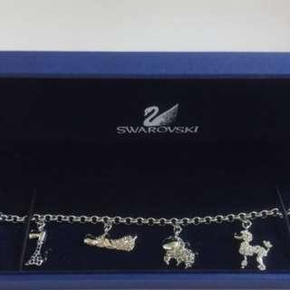 SWAROVSKI Lovlots Gang of Dogs Bracelet # 946780 MIB