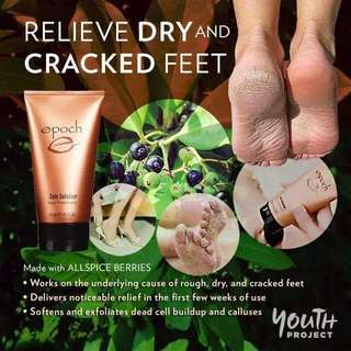 Crack ,dry foot treatment