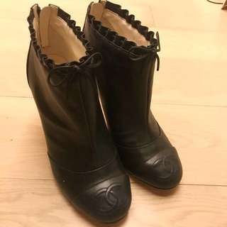 Chanel 高跟Ankle Boots (37.5)