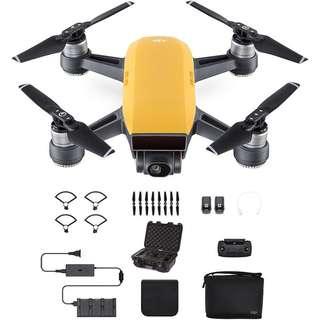 DJI Spark Fly More Combo (Sunrise Yellow)