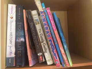 Young Adult (YA) books for Php150-200