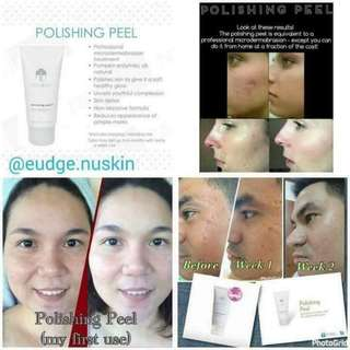 Diamond Polishing peel