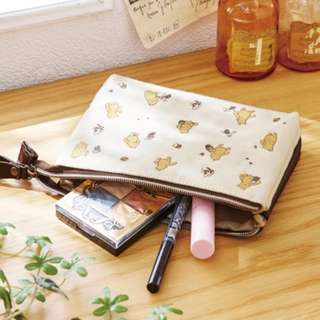 Japan Disney Pooh 3 Rooms Cosmetics Pouch