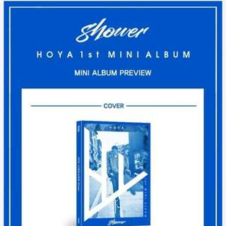 HOYA 1ST MINI ALBUM - SHOWER
