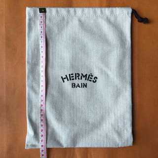 🐰HERMÈS Hermes Bain Dust bag 塵袋