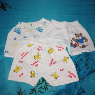 Take all: Cotton Baby Shorts