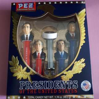 Pez President Of United States America Vol 9