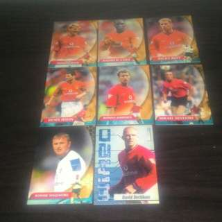 FOOTBALL Vintage Trading Cards - Manchester United