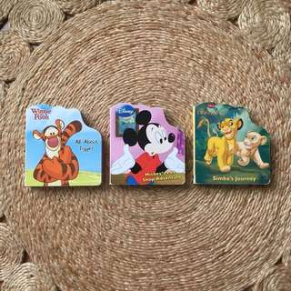DISNEY Board Book Bundle (3 Titles)