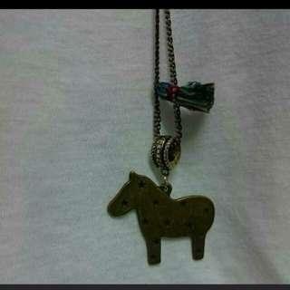 (包郵)購至韓國  - 馬仔長頸鏈