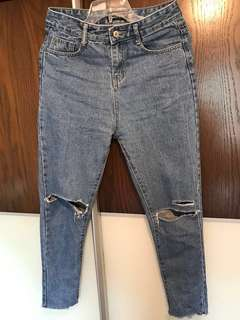 Boy Friend Jeans Made in Korea