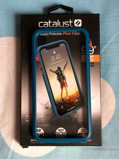 Catalyst iPhone X Case (blue&orange)