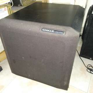 Kenwood Woofer with Amplifier
