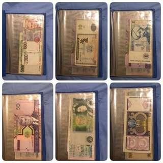 European notes collection