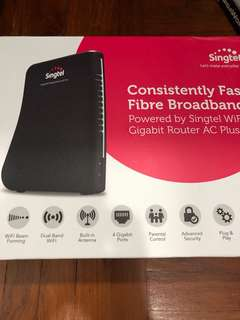 Singtel Gigabit Router AC plus