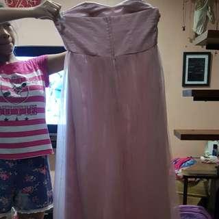 Tube elegant gown